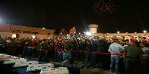Venezolanos celebran cumpleaños 60 de Hugo Chávez