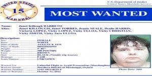 Mujer más buscada es capturada en Estados Unidos