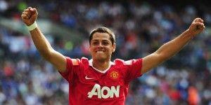 Conserva 'Chicharito' número 14 del Manchester United