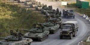 Impide ejército de Ucrania el paso a vehículos militares rusos