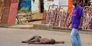 Abandonan en las calles cadáveres de víctimas de ébola