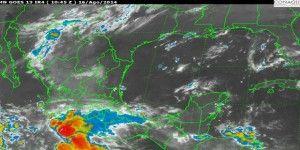 Continuarán lluvias fuertes en gran parte del país