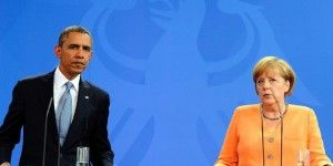 Obama y Merkel advierten a Rusia dejar de intervenir en Ucrania