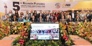 Senadores del PRD delinean estrategia del próximo periodo ordinario