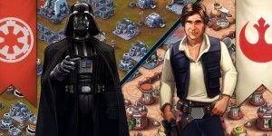 Lanza Disney app y película animada de Star Wars