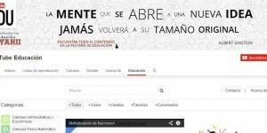 YouTube presentó canal educativo en español