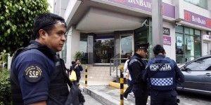 Reportan tres asaltos a bancos en menos de cinco horas