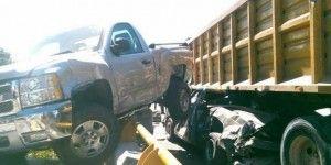 Choca tráiler en la México – Cuautla y deja 5 heridos
