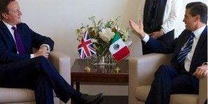 Peña Nieto y David Cameron analizan temas de transparencia y reformas