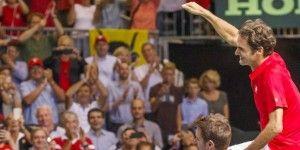 Suiza a la final de la Copa Davis