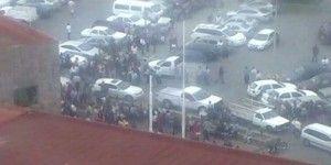 Desalojan oficinas municipales de San Luis Potosí por fuga de amoniaco