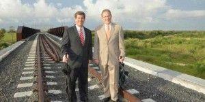 Inaugurarán puente ferroviario Brownsville – Matamoros