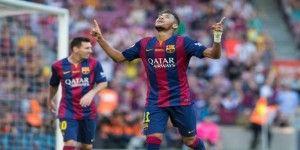 Barcelona golea con hat-trick de Neymar