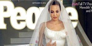 Primera imagen de la boda Jolie-Pitt