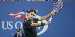 Federer a semifinales del US Open