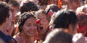 Holanda hace su tomatina contra sanciones rusas