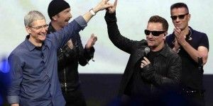 """Bono se disculpa por """"regalar"""" su disco por iTunes"""