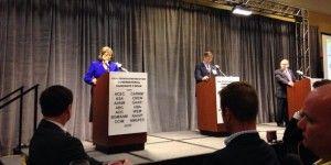 Candidatos a gobernador de Nuevo México debaten en español
