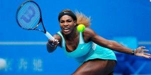 Serena Williams abandona Abierto de Beijing por lesión