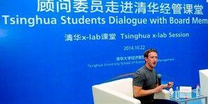 Zuckerberg habla chino ante estudiantes en Beijing