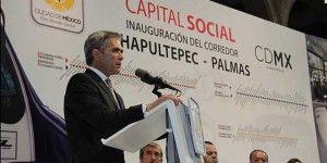 Anuncia GDF puesta en marcha de corredor Chapultepec-Palmas
