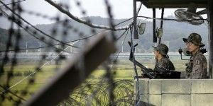 Se enfrentan Coreas en frontera