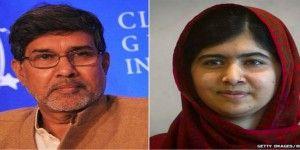 Malala Yusafzai y Kailash Satyarthi ganan el Premio Nobel de la Paz