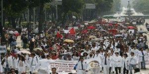 Marcha del IPN en imágenes