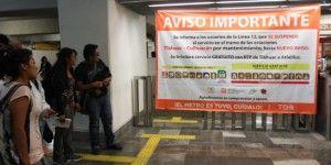 Piden 600 ciudadanos indemnización por cierre de Línea 12