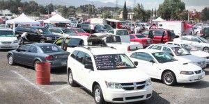 Disminuye importación de autos usados al país