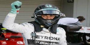 Rosberg consigue la pole para el GP de Japón