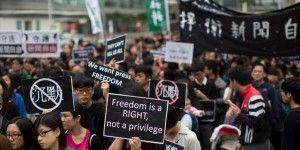 Bloquean redes sociales en Hong Kong por protestas