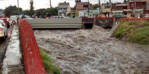 Lluvias inundan Querétaro