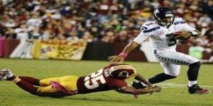 Wilson y Seahawks ganan pese a infracciones