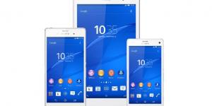 Z3: la nueva línea de teléfonos y tablet de Sony