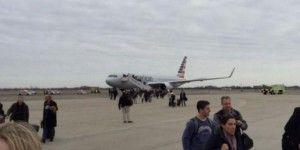 Alertan por bomba en avión en Nueva York