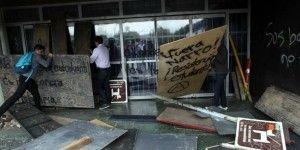 Alumnos de la UNAM liberan Rectoría