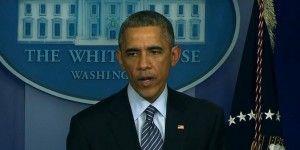 Obama llama a protestas pacíficas por el caso de Ferguson