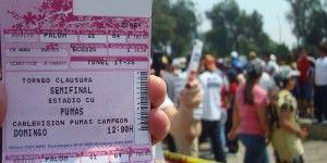 Detienen a 14 revendedores en partido Pumas – Veracruz