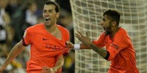 Gana Barcelona a Valencia con gol de último minuto
