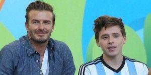 David Beckham y su hijo sufren accidente automovilístico