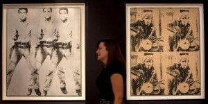 Subastan cuadros de Warhol por 151 mdd