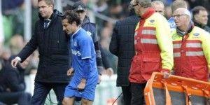 Lesionado Guardado en empate del PSV