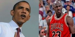 Guerra de declaraciones entre Michael Jordan y Barack Obama