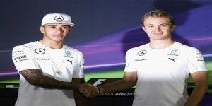 Hamilton 1ro y Rosberg 2do en prácticas de Abu Dabi