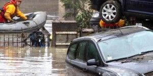 Desalojan a miles de personas por inundaciones en Italia
