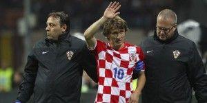 Perdería Real Madrid a Modric por lo que resta del año