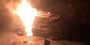 Incendian dos patrullas en Nicolás Romero por secuestro