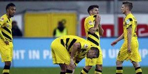 El Borussia Dortmund vuelve a las andadas y empata
