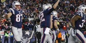 Brady y los Patriotas aplastan a Manning y los Broncos